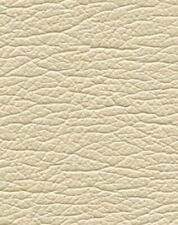 """Nos Ultraleather faux leather upholstery fabric 36"""" x 52"""" Pearlized Alabaster"""