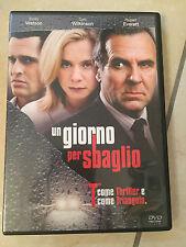 UN GIORNO PER SBAGLIO DVD