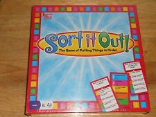 Sort it Out! Know A Little Win Everything Fast Paced AGE 12+ University Game