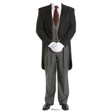 ENGLISH BUTLER Valet Lifesize Stand-In CARDBOARD CUTOUT Standin Standup Standee