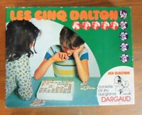 "Ancien jeu Dargaud 1974 lucky luke de Morris ""Les cinq Dalton"""