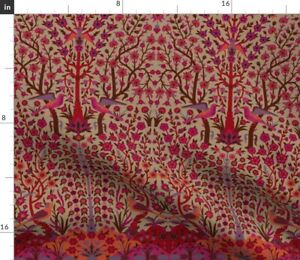 Persian Vintage Damask Turkish Moroccan Indian Spoonflower Fabric by the Yard