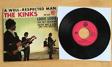 45T THE KINKS - A WELL-RESPECTED MAN ( AVEC LANGUETTE) - EXCELLENT ETAT