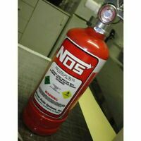 NOS Fire Extinguisher Overlay Decal Sticker JDM Nitrous Oxide N20 Funny Humor