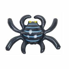 12 x Spooky Halloween Inflatable Spider Decoration Haunted House Party Decor