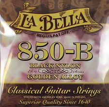 Classical Guitar Strings, 850-B, La Bella Set De Cuerdas Para Guitarra Clasica