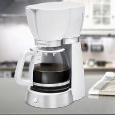 Coffee machine glass jug brewing machine 15 cups filter household 1000 W white