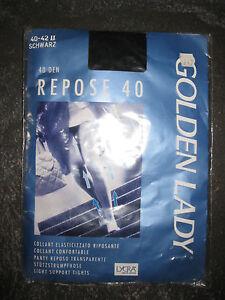Modische Feinstrumpfhose Struktur GOLDEN LADY DIAMOND SKY Gr.S//M  Neu