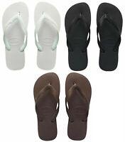 Havaianas Flip Flops / Top Thongs Unisex Dark Brown/White/Black