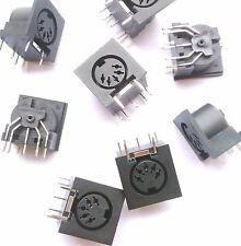 100pcs DIN5 Jack PCB Panel Mount MIDI Female 5Pin DIN connector jack mount