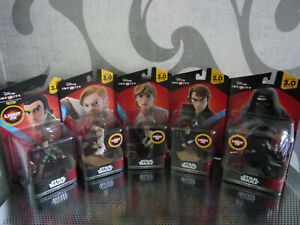 Disney Infinity 3.0 Star Wars - Light Fx Game Characters For Search - Nip