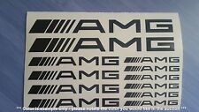 AMG Mercedes Emblems / Stickers / Decals - assortment, 12 total, multiple colors