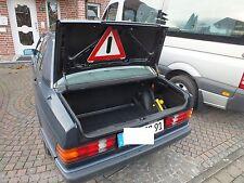 Gummimatte für Mercedes  Kofferraum Abdeckung Teppich Wanne W201 190D 190 190E