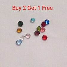 Floating Memory Living Charm Locket - Birthstone 12pc Lot - 1pc of each month