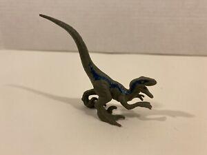 Jurassic World Mini Dino Velociraptor Blue Figure Blind Bag Mattel