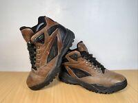 Reebok Leather Walking Boots Shoes Size UK 6 EU 39