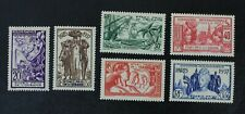 CKStamps: France Stamps Collection French Polynesia Scott#117-122 Mint H OG