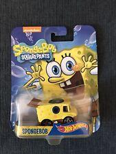 NIB Hot Wheels Nickelodeon Spongebob Squarepants Character Car
