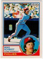 1983 MIKE SCHMIDT PHILADELPHIA PHILLIES O PEE CHEE BASEBALL CARD #300