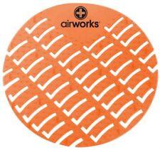 Hospeco Airworks Awus007-Bx Urinal Deodorizer Screen Mango Orange (Box of 10)