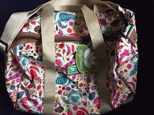 Lily Bloom Tara Overnighter Duffel Travel Bag Weekender Lovecats Cat Lover NWT