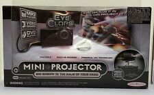 "EyeClops Mini Projector Portable DVD MP3 TV Up to 60"" Jakks Pacific LED"