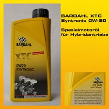 BARDAHL XTC Syntronic Motor Oil 0W-20