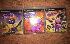 Spyro: The Dragon Collection Empty Custom Cases. PS1 PS2 BLACK LABEL