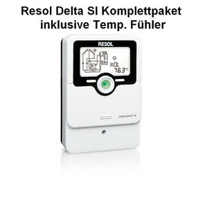 Solarsteuerung Deltasol SL Solarregler 4x PT 1000 Fühler Solar