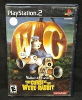 Wallace & Gromit: The Curse of PS2 Playstation 2 Game Tested Working Complete