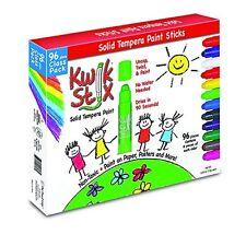The Pencil Grip Kwik Stix 96-pc Tempera Paint Sticks - 96 / Each - Assorted