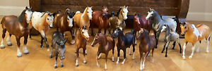 Vintage Breyer Horse Lot Collection Of 15 Horses & Donkey USA Reeves