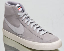 Nike Blazer Mid '77 Suede Men's Wolf Grey Pure Platinum Lifestyle Sneakers Shoes