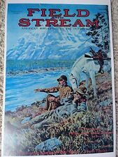 Field And Stream Magazine Cover Poster, November 1917 Artist Watson