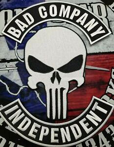 BAD COMPANY INDEPENDENT back patch