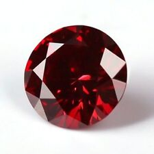 1.00 CT. MOISSANITE ROUGE CERISE 6.70 mm. VVS1 EN VRAC ROND SUPERIOR AU DIAMANT