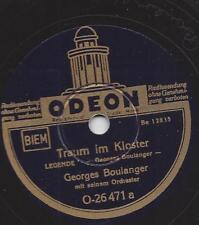 Georges Boulanger Tanzorchester : Traum im Kloster  +  Herbstgedanken