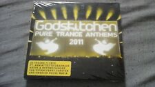 GODSKITCHEN - PURE TRANCE ANTHEMS 2011 - 3 CD - 60 Tracks - NEUF sous blister