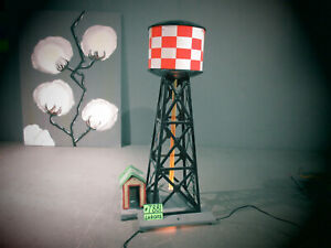 American Flyer 772 Vintage S Checkerboard Water Tower with Bubble Tube.