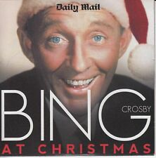 BING CROSBY AT CHRISTMAS -UK PROMO CD / WHITE CHRISTMAS, JINGLE BELLS ETC