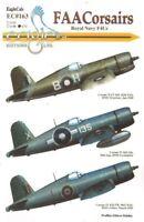 Eagle Cal ADHESIVOS 1/72 FAA Vought F4U Corsairs #72163