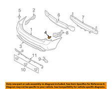 KIA OEM 2007 Rondo Rear Bumper-Center Cover Retainer 8691021010