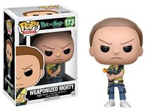 Funko POP! Rick & Morty: Weaponized Morty - Cartoon Vinyl Figure 173 NEW