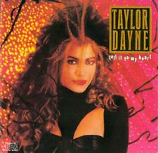 Taylor Dayne - Tell It To My Heart - UK CD album 1987