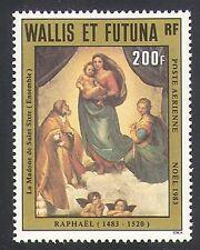 Wallis & Futuna 1983 Raphael/Art/Artists/Christmas/Madonna/Pope 1v (n34749)