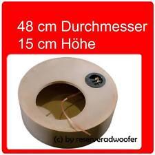 """Reserveradgehäuse für 25cm / 10"""" Woofer, XS 17 Liter"""