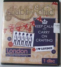 1 x Debbi Moore Designs Shabby Chic London CD Rom (293442)