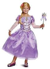 Rapunzel Deluxe Disney Princess Tangled Fancy Dress Up Halloween Child Costume