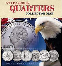 State Series Quarters Collector Map: Also Including the District of Columbia and