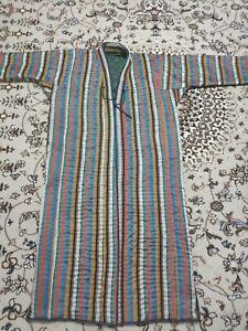 Uzbek handmade Men's Alacha Chapan Caftan, Coat  handmade, traditional men's #4